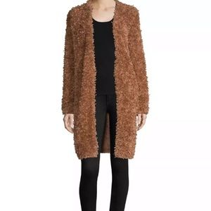NWT M Missoni Thick Fur Open Front Jacket Coat